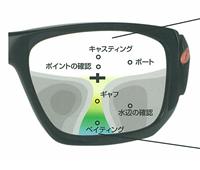 オークリー 釣り用レンズ